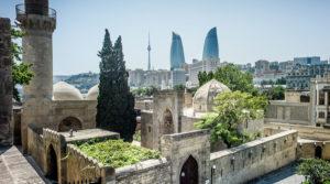 کاخ شیروان شهر در شهر باکو